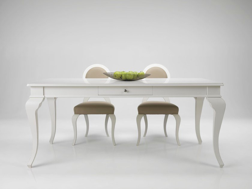 Extending lacquered table ALBA by L'Ottocento
