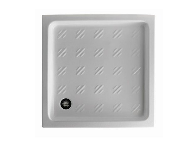 Built-in square shower tray ALBATRO 80 | Shower tray by GALASSIA