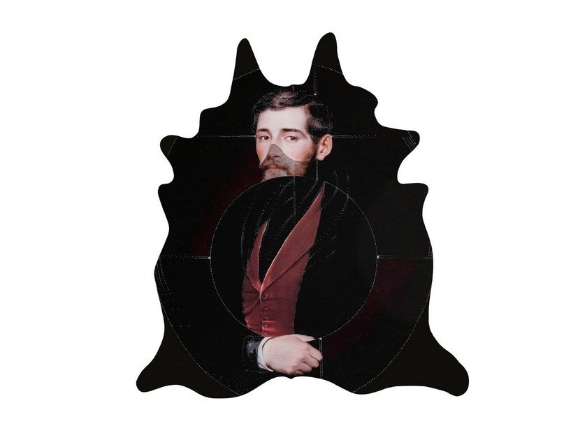 Patterned rug ALBERT by Mineheart
