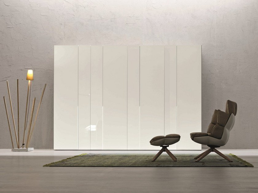 Sectional lacquered wardrobe ALBERTA by Febal Casa