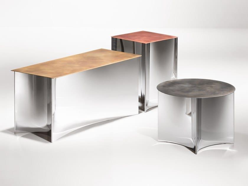 Tavolino in metallo ALCHEMY by DE CASTELLI