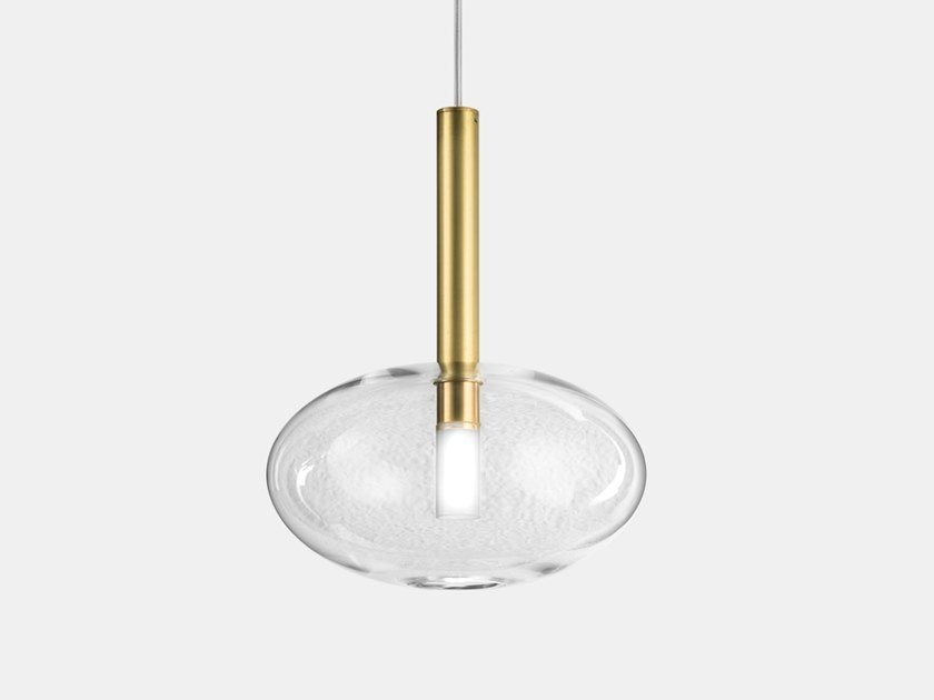 Contemporary style direct light metal pendant lamp ALCHIMIA 277.04.ONT/277.14.ONT by Il Fanale
