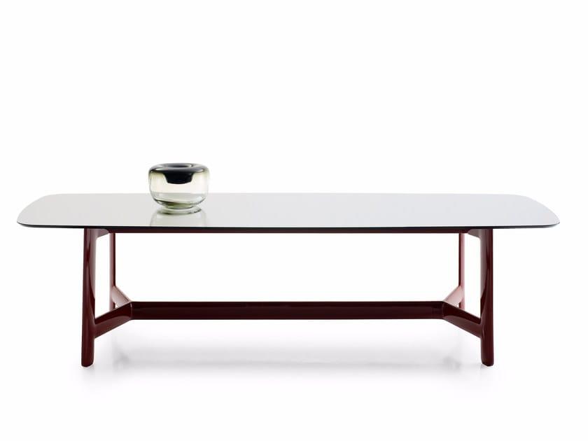 Rectangular marble table ALEX   Rectangular table by B&B Italia