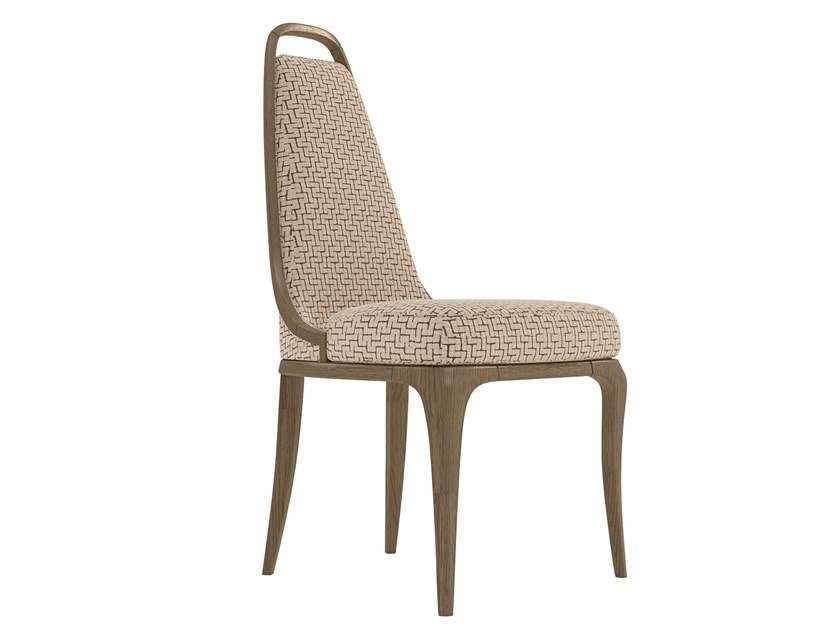 Upholstered fabric chair ALEXANDER   Chair by A.R. Arredamenti