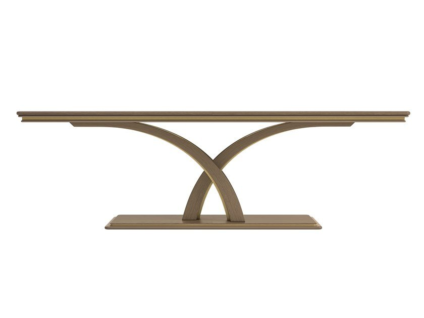 Rectangular wooden table ALEXANDER | Table by A.R. Arredamenti