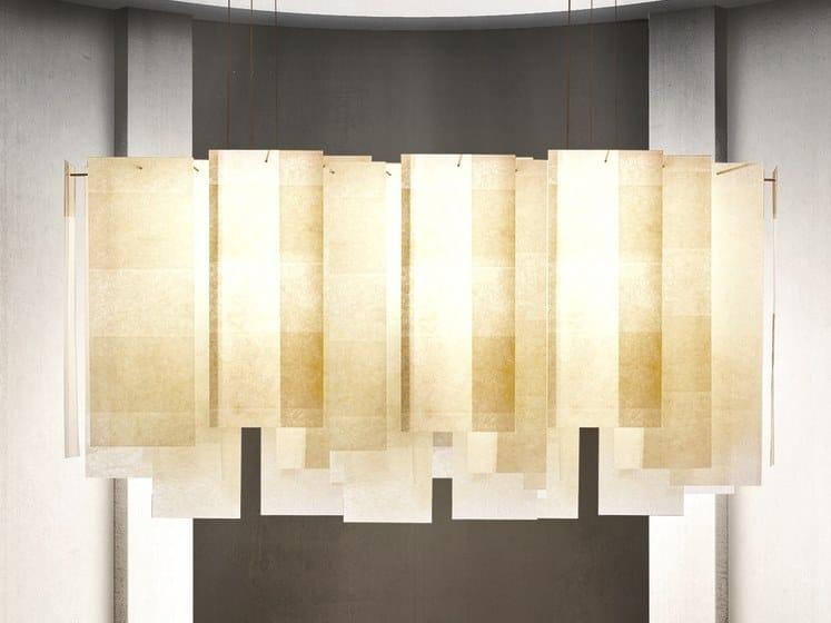 Fiberglass pendant lamp Alexandra by Pallucco