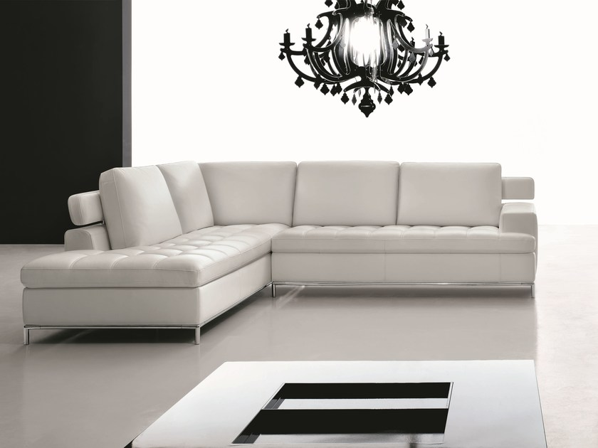Sectional Leather Sofa ALEXIA | Sectional Sofa By Egoitaliano