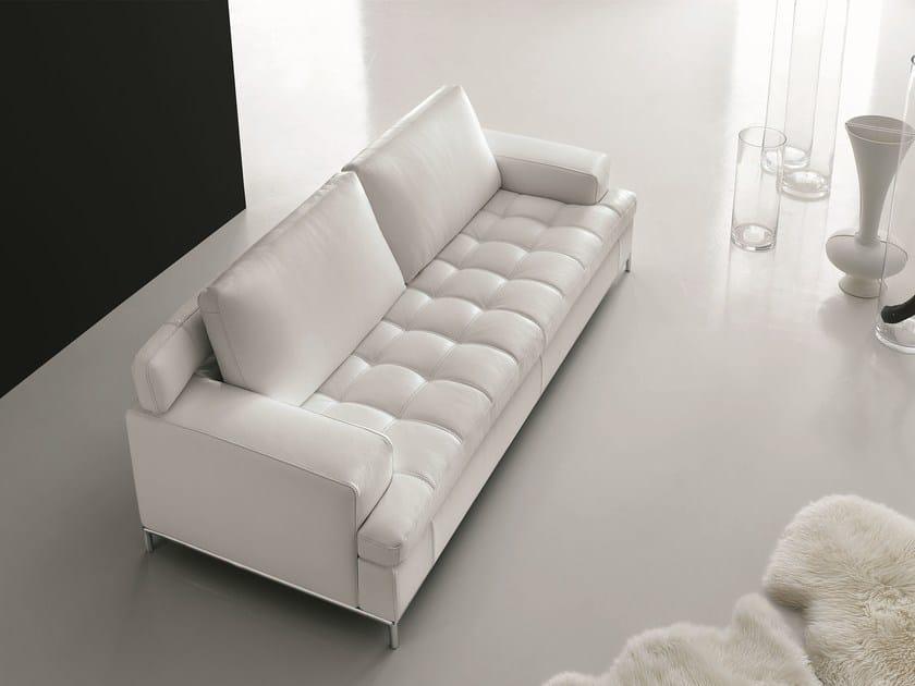 Leather sofa ALEXIA | Sofa by Egoitaliano