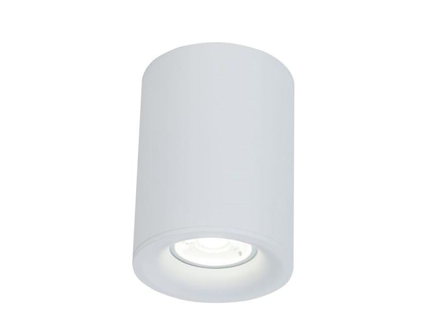 Direct light aluminium ceiling lamp ALFA | Round spotlight by MAYTONI