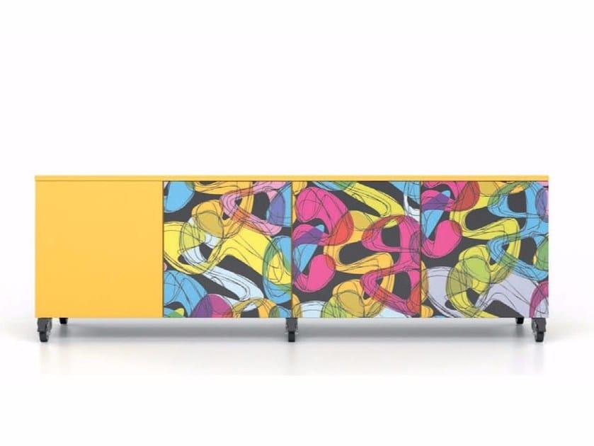 HPL sideboard with doors ALFABOX | Sideboard with doors by De Rosso