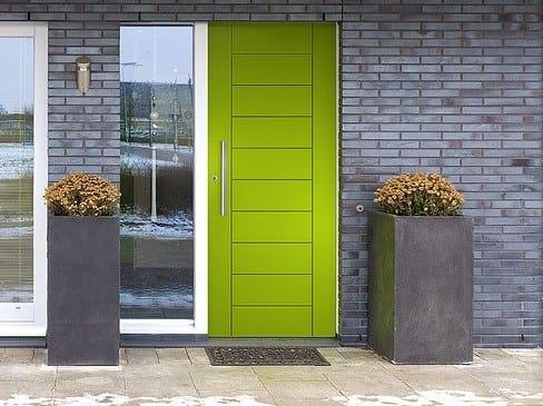 Aluminium entry door ALIANTE | Entry door by DOMAL