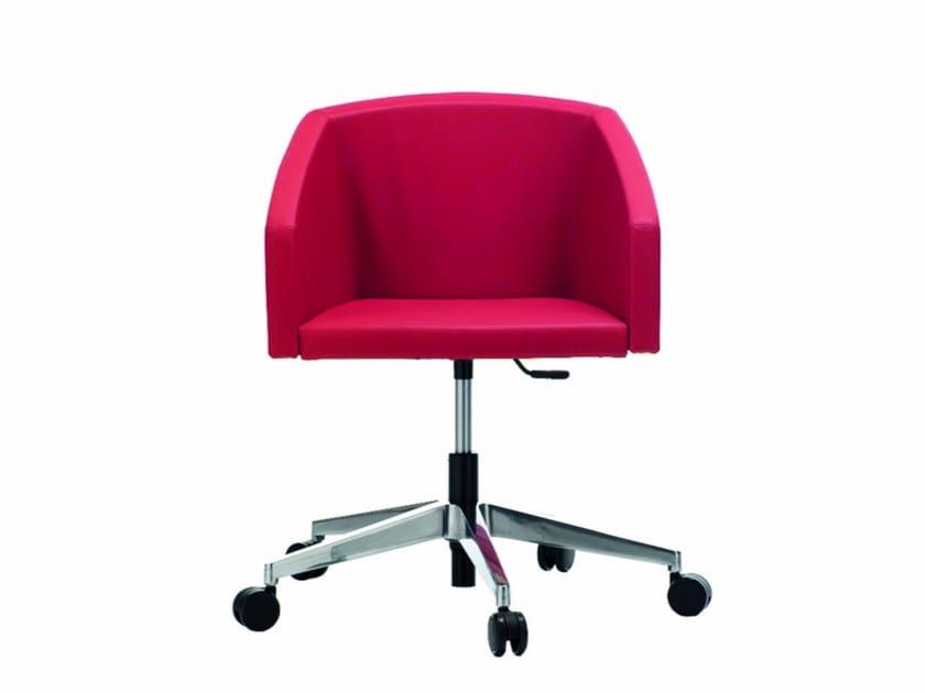 Swivel chair with 5-spoke base ALIAS | Chair with 5-spoke base by Quadrifoglio