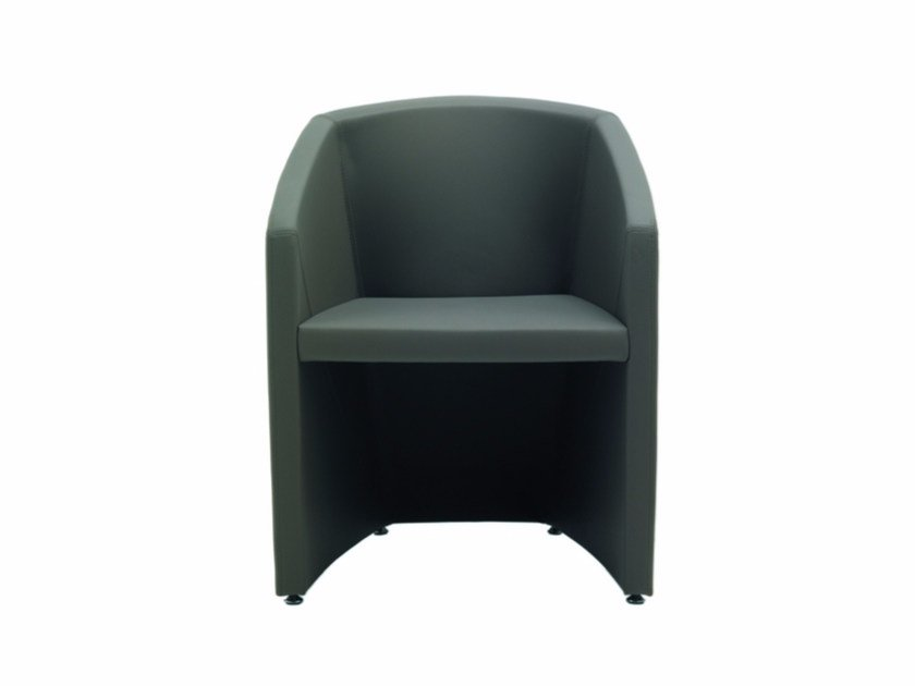 Easy chair with armrests ALIAS | Easy chair by Quadrifoglio