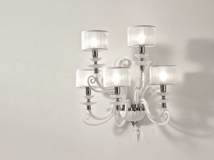 Applique con cristalli swarovski® alicante a5 shade collezione