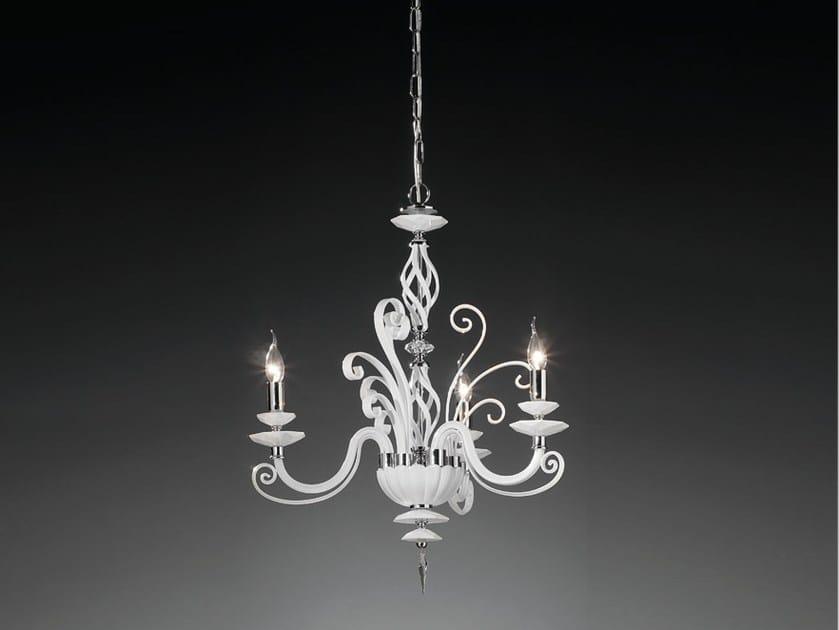 Lampadario con cristalli Swarovski® ALICANTE L3 by Euroluce Lampadari