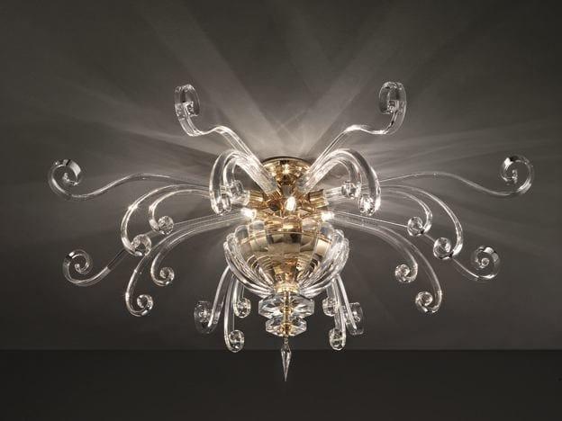 Plafoniere Cristallo Bagno : Lampade da soffitto con cristalli swarovski® archiproducts