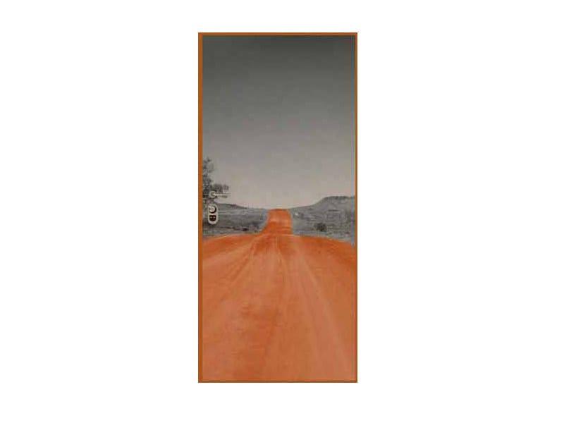 Door panel for indoor use GRAPHICS-IN ALICE SPRING by Metalnova
