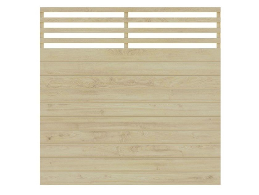 Wooden shade panel ALICE by Zuri Design