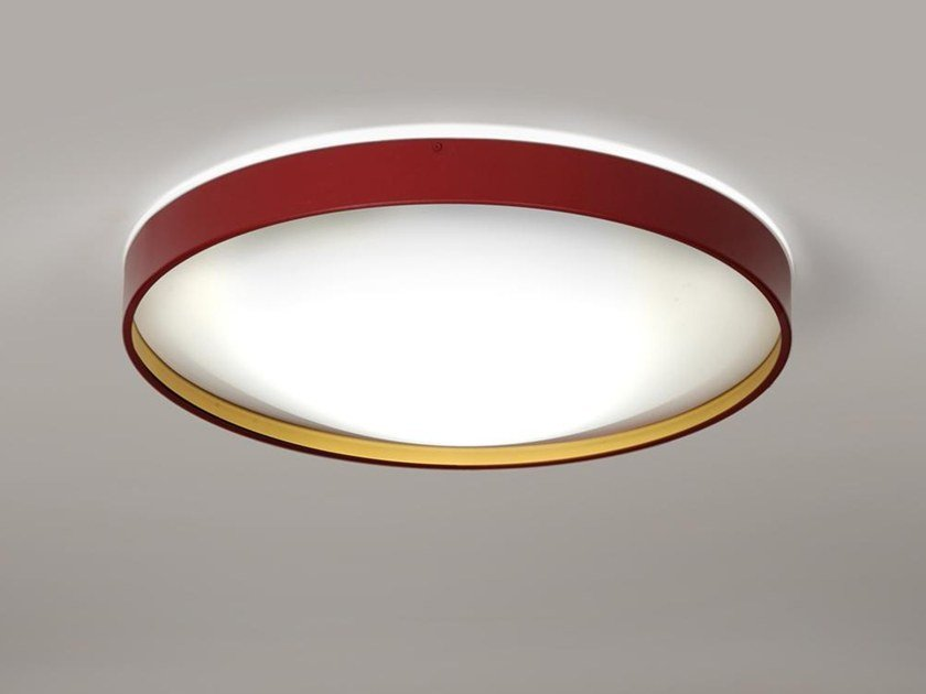LED stainless steel ceiling light ALINA 6670 by Milan Iluminacion