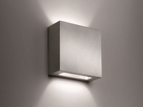 Direct-indirect light semi-inset wall light ALINA IN K Alina