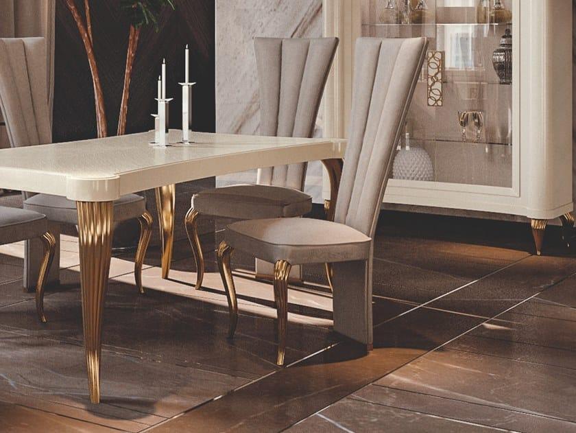 Upholstered chair ALITE by Valderamobili