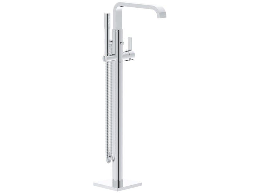 Floor standing bathtub tap with hand shower ALLURE 32754002 | Floor standing bathtub tap by Grohe