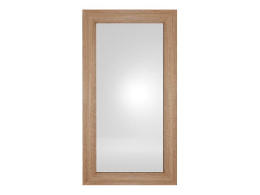 Freestanding rectangular framed mirror ALLURE by EXENZA
