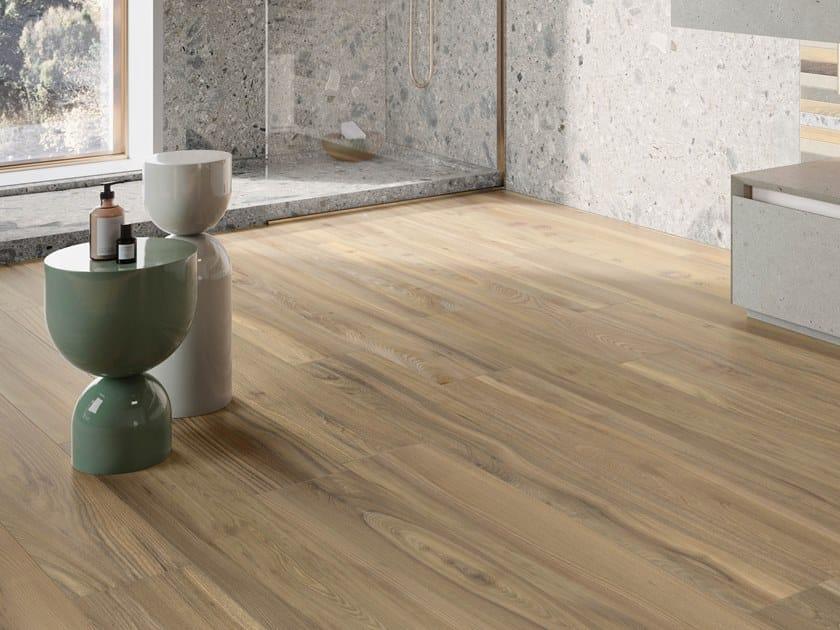 Pavimento/rivestimento in gres porcellanato effetto legno ALLURE OLMO FUMÉ by Italgraniti