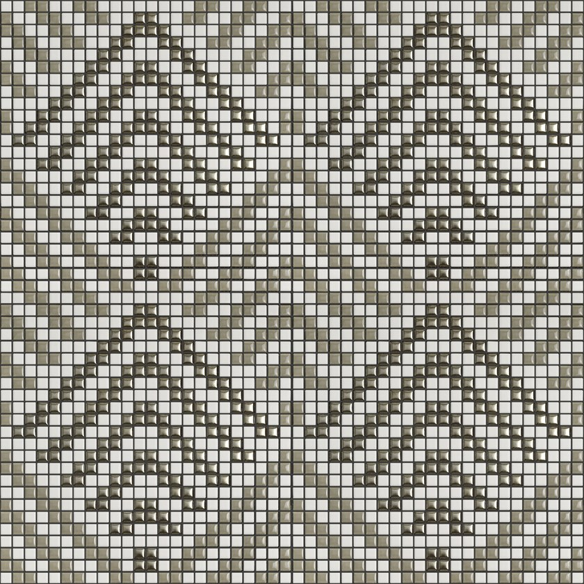 Ceramic mosaic ALLURE PEGGY 001 by Appiani