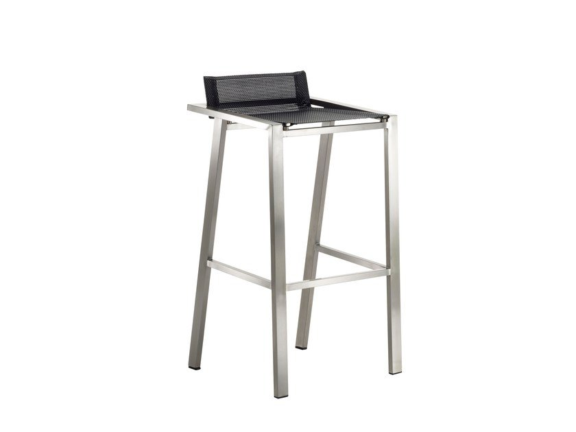 Stool with footrest ALLURE | Stool by solpuri
