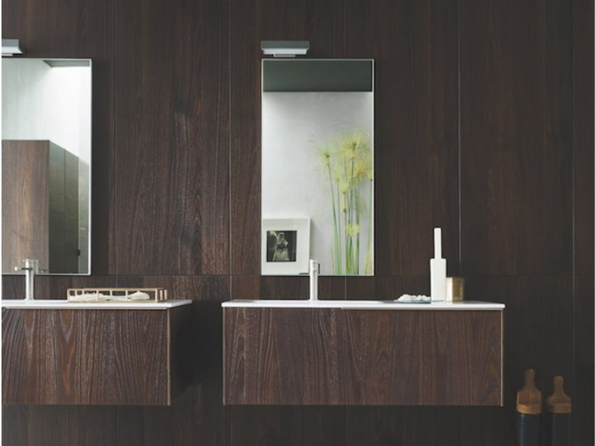 Wall-mounted vanity unit with drawers ALMA 12 by Arbi Arredobagno