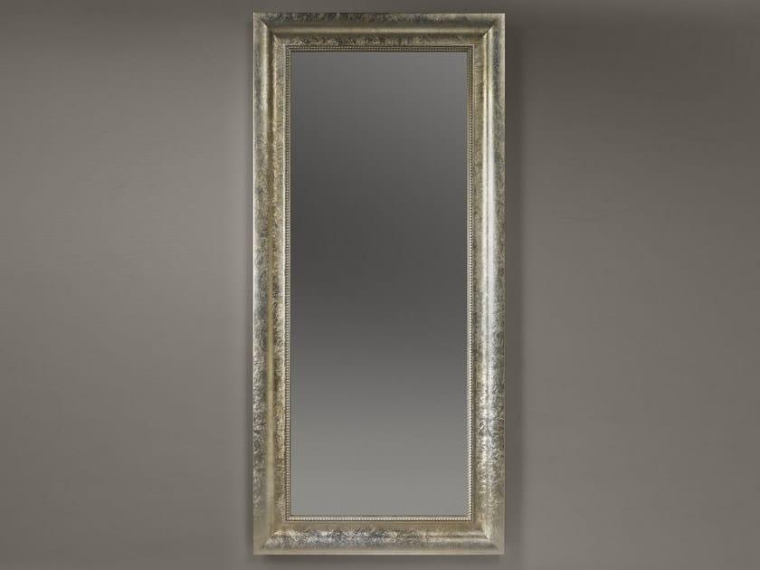 Freestanding rectangular framed mirror ALMA by ariannasoldati