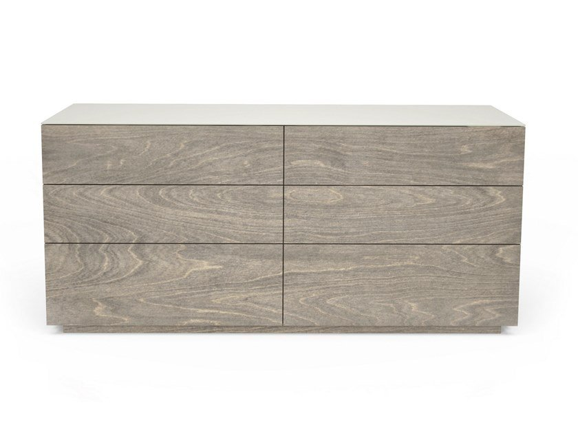 Birch chest of drawers ALMA | Chest of drawers by Huppé
