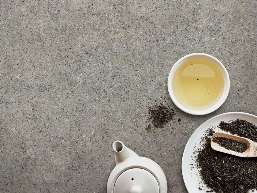 Top cucina in ceramica sinterizzata effetto pietra ALMA by Arklam