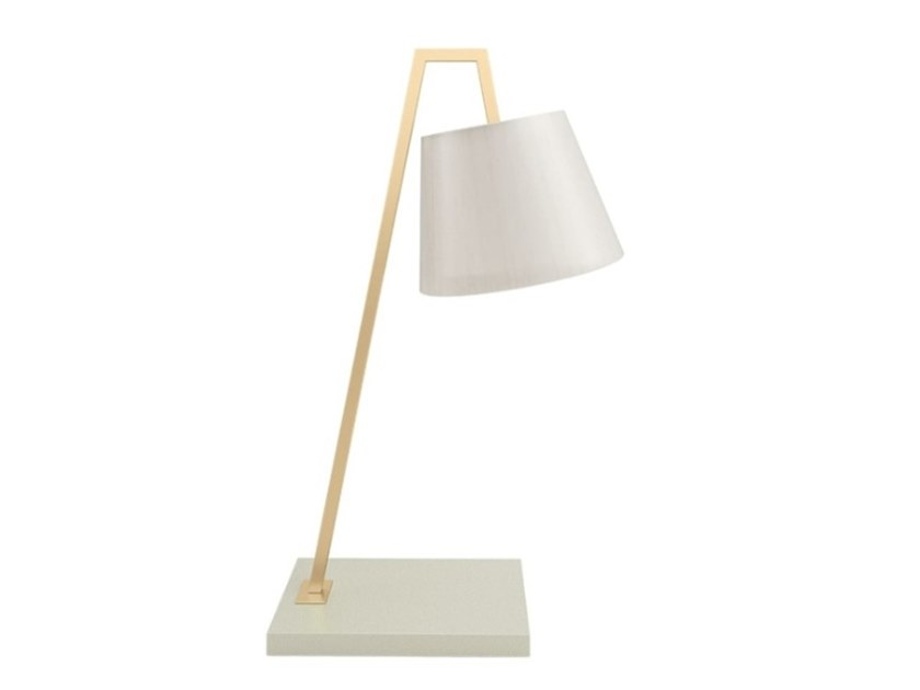Direct light brass table lamp ALMANCIL by FRATO