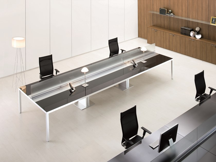 Multiple office workstation ALPHA PEOPLE by Archiutti