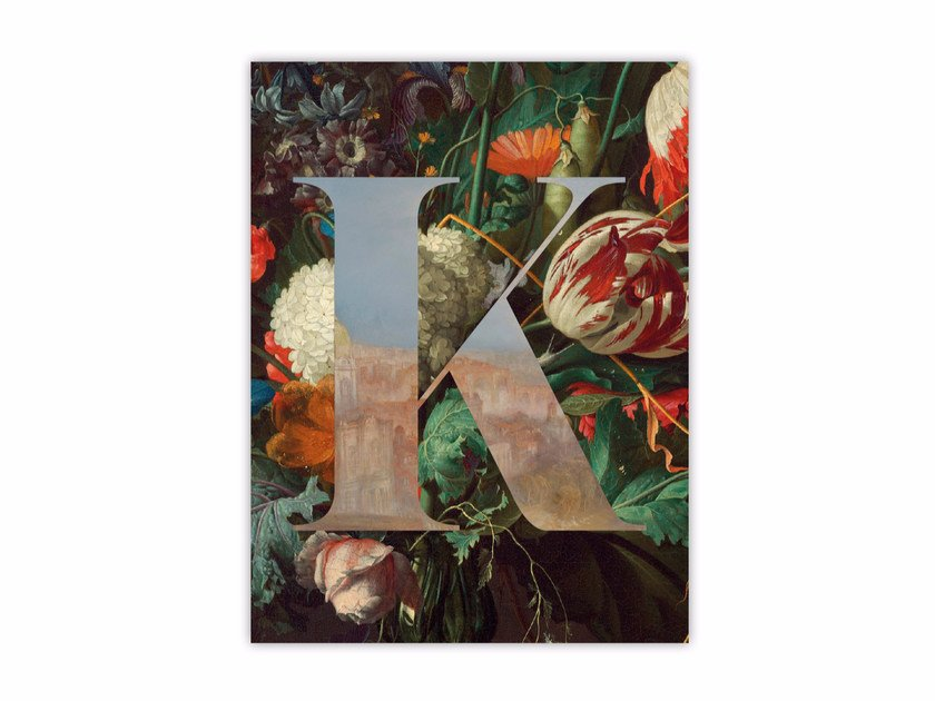 Print on paper ALPHABET K by Funky Milk