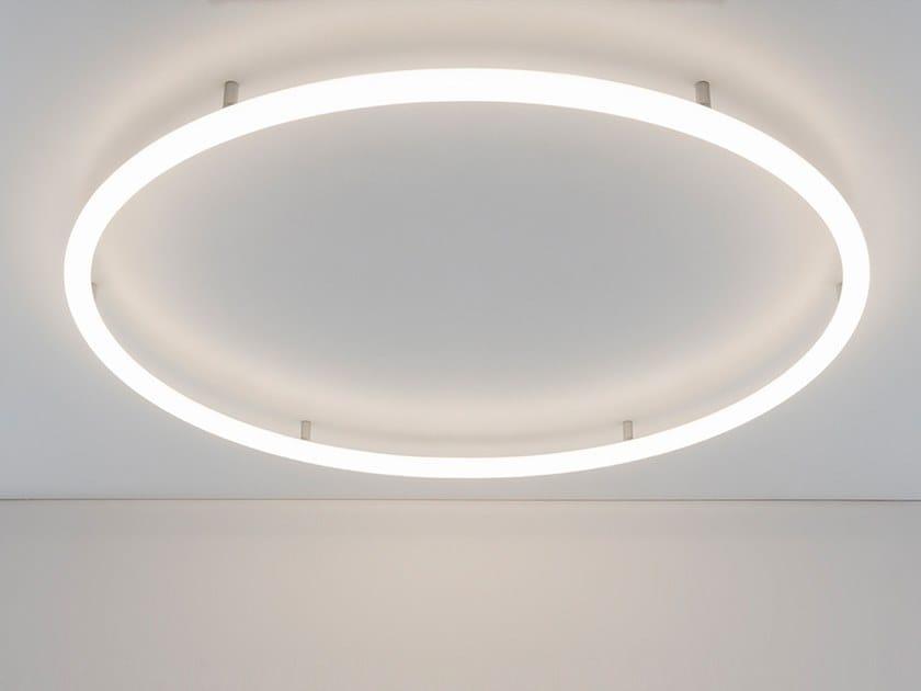 Lampada da parete / lampada da soffitto a semi-incasso ALPHABET OF LIGHT CIRCULAR   Lampada da soffitto a semi-incasso by Artemide