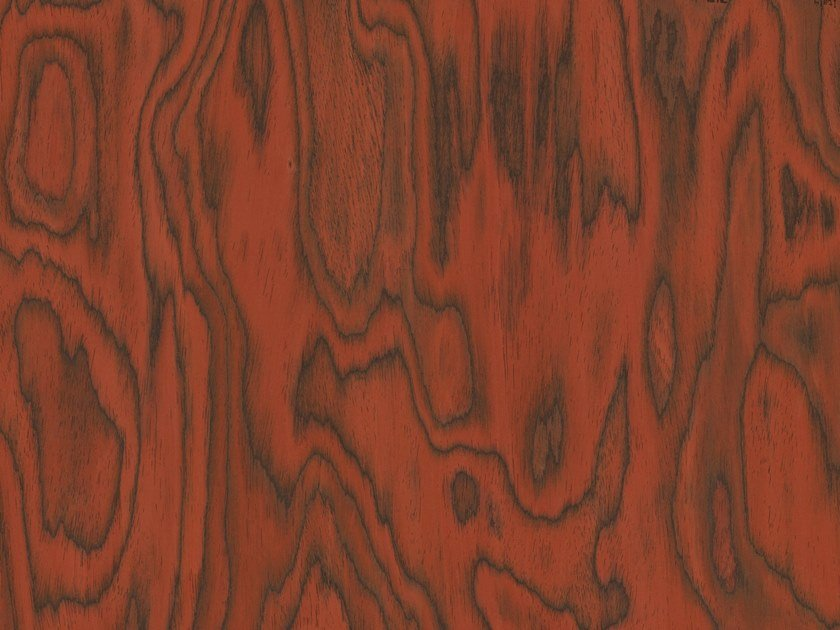Wooden wall tiles ALPI SOTTSASS RED by ALPI