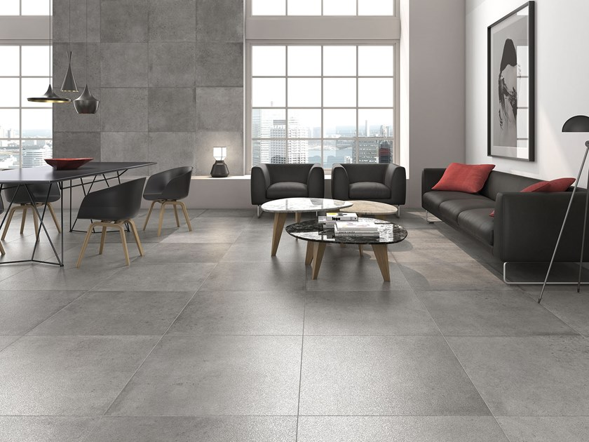 Porcelain wall/floor tiles with stone effect ALTAIR by ITT Ceramic