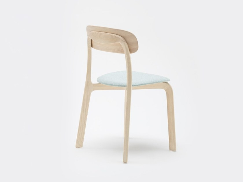 Good Solid Wood Chair With Integrated Cushion ALTER By MSu0026WOOD