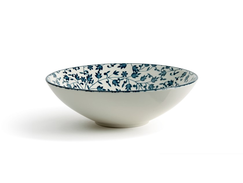 Porcelain stoneware serving bowl ALTHEA EDERA | Serving bowl by Fill