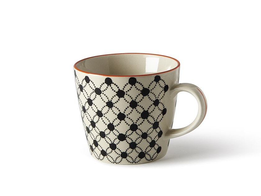 Porcelain stoneware cup ALTHEA FIORE 5 | Cup by Fill
