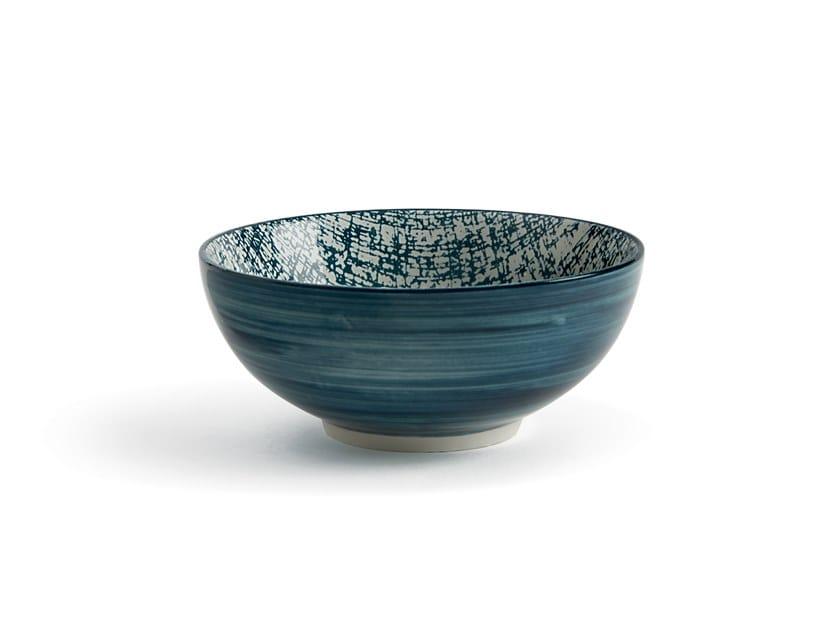 Porcelain stoneware serving bowl ALTHEA JUTA   Serving bowl by Fill