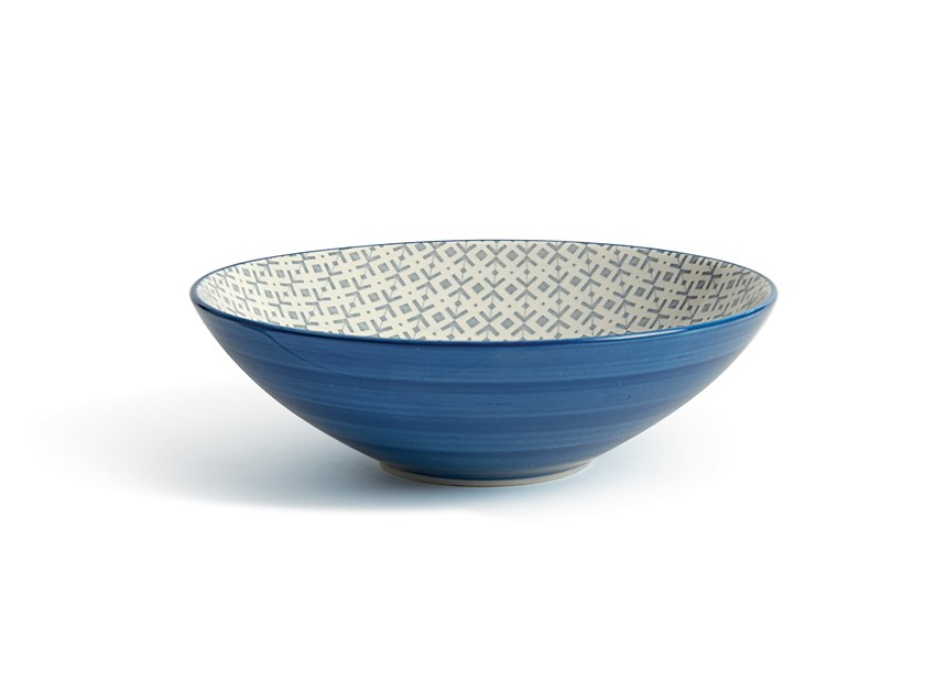 Porcelain stoneware serving bowl ALTHEA PUNTOCROCE | Serving bowl by Fill