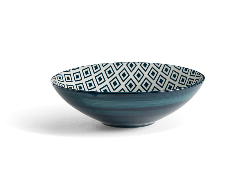 Porcelain stoneware serving bowl ALTHEA ROMBO | Serving bowl by Fill
