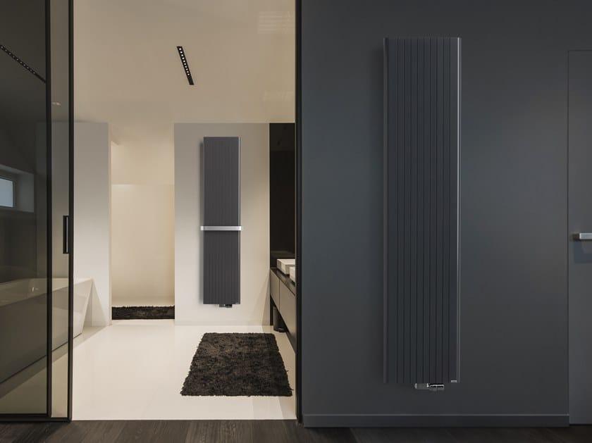 Wall-mounted aluminium decorative radiator ALU-ZEN by VASCO