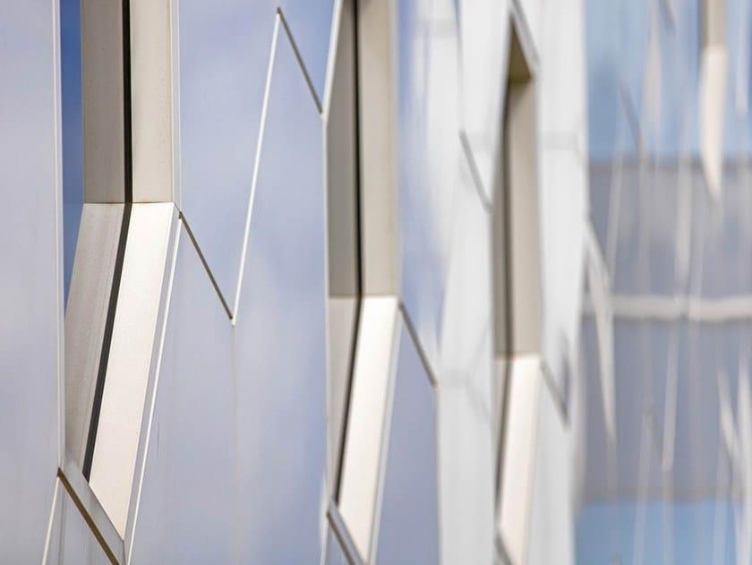 Pannello di facciata in materiale composito ALUCOBOND® sparkling by 3A Composites