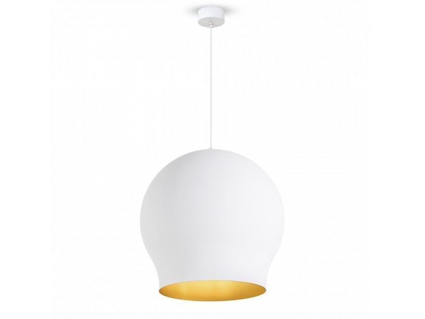 Aluminium pendant lamp TULIP | Aluminium pendant lamp by Moretti Luce