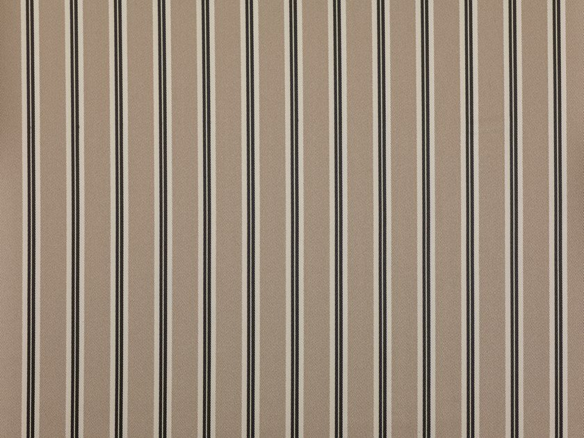 Striped fire retardant Trevira® CS upholstery fabric ALUMNUS by Dedar